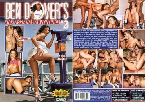 Ben Dover's Kick Ass Anal Adventures 3  (Steve Perry, Kick Ass) [2004 г., Anal, Mature, Threesome, Gonzo, DVDRip]