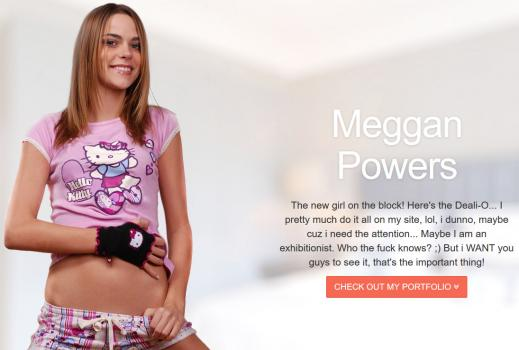 MegganPowers (SiteRip) Image Cover