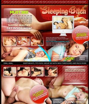 SleepingBitch (SiteRip) Image Cover