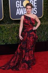 Alyssa Milano - 2019 Golden Globe Awards Red Carpet