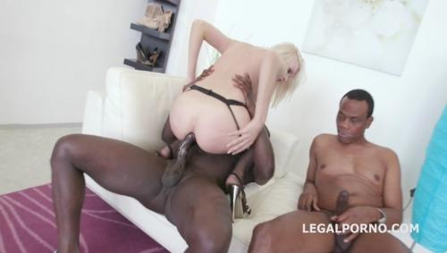 Black Busters, 5on1 Bree Haze interracial DP [LegalPorno.com/2016]