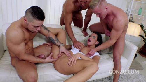 First anal for busty whore Chloe Lamour rewarded with 6 cumshots to swallow SZ1948 [LegalPorno.com/2018]