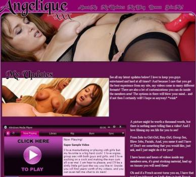 Angeliquexxx (SiteRip) Image Cover