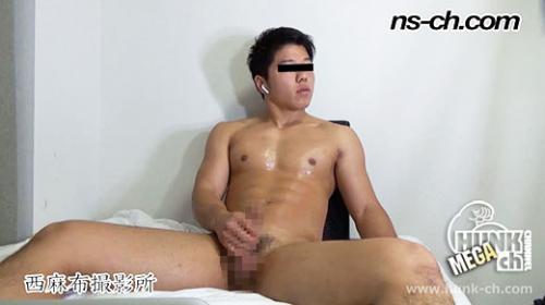 NS571 男経験0の体育会男子たち(164cm70kg22歳)