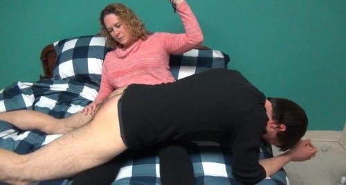 JERKY GIRLS – MOMMY SPANKED & JERKED ME!! – Josey Handjob
