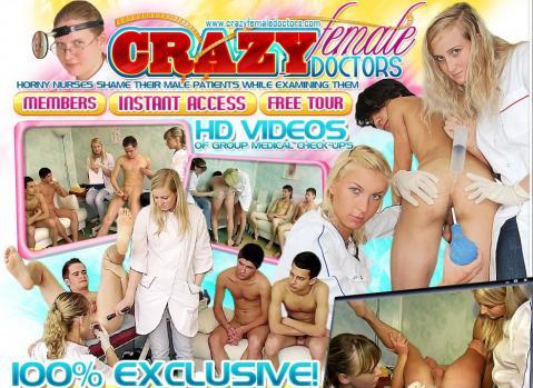 CrazyFemaleDoctors (SiteRip) Image Cover