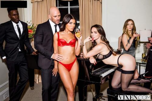 Vixen - After Dark Part 2 (2018) - Threesome Porn HD 4K - Tori Black, Adriana Chechik & Johnny Sins