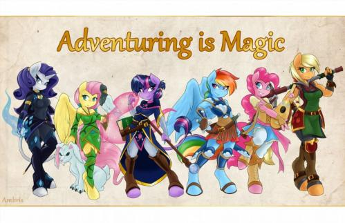 [Ambris] Adventuring is Magic [My Little Pony: Friendship is Magic] [English]
