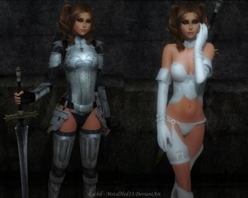 [metalhed13 3DCG]-Rachil