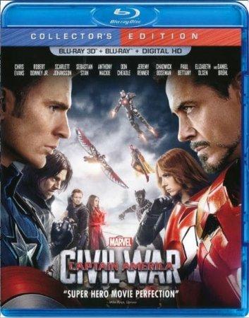 Captain America Civil War 3D Full HD 2016 1080p