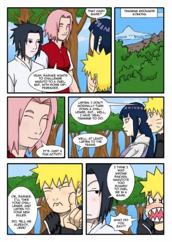 [Matt Wilson] [Naruto] Naru-gi-oh! XXX [color R.O.D.]