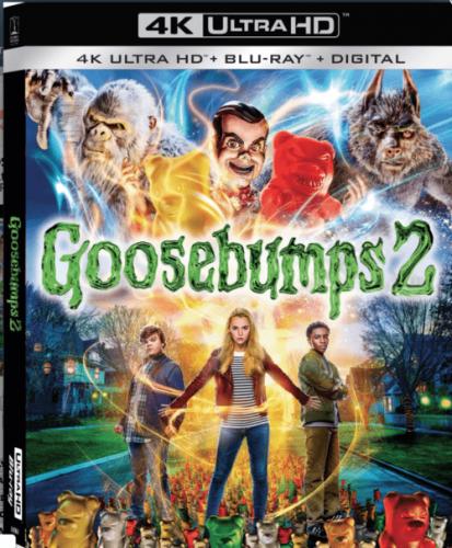 Goosebumps 2: Haunted Halloween 4K 2018 Ultra HD 2160p