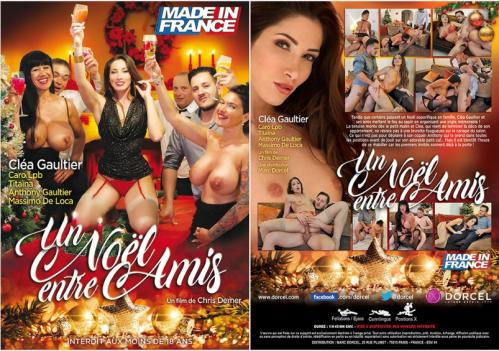 Un Noel Entre Amis / Un Noël Entre Amis (Chris Demer, Made In France) [2018 г., All sex, Etero, European Girls/Mature/MILF, Group sex, Anal, Big Tits, Oral, Cum shots, WEB-DL]